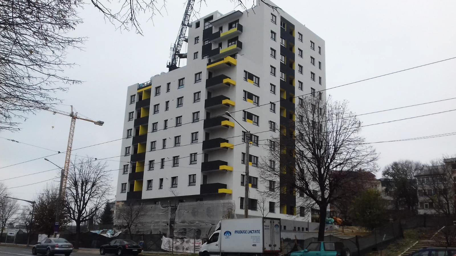 Ansamblu rezidential Fusion Towers Iasi