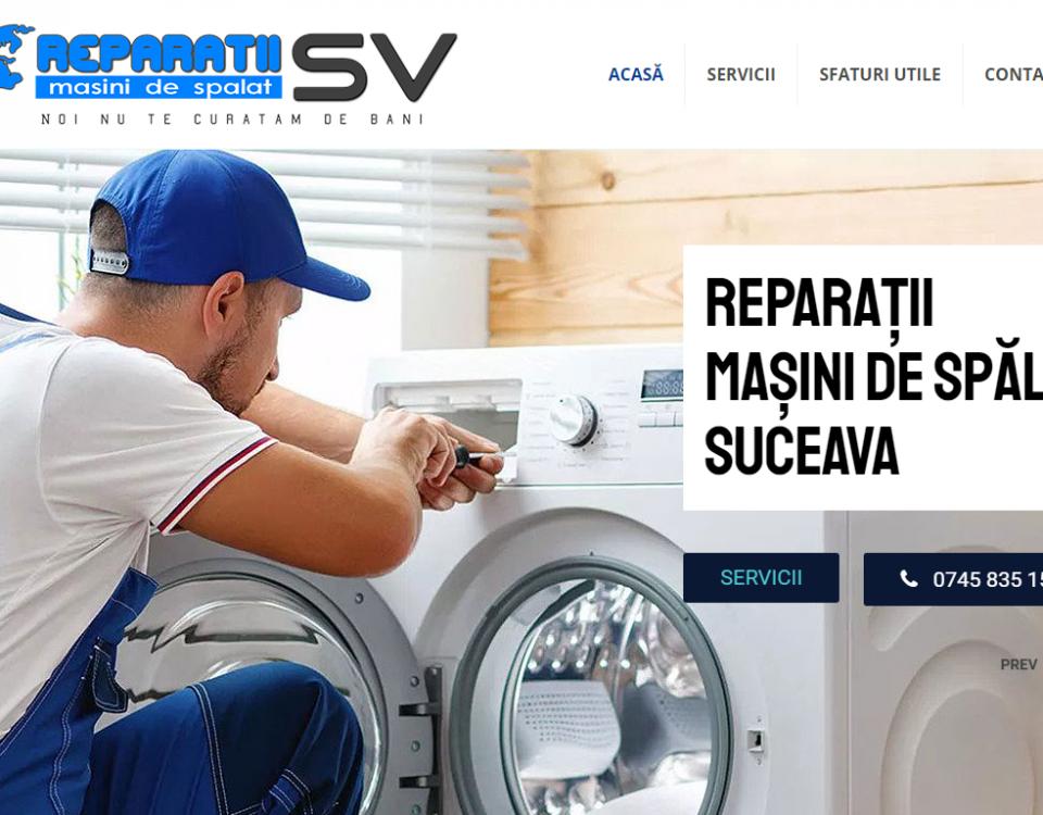 reparatii masini de spalat Suceava