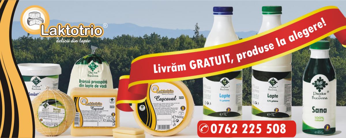 Laktotrio produse lactate