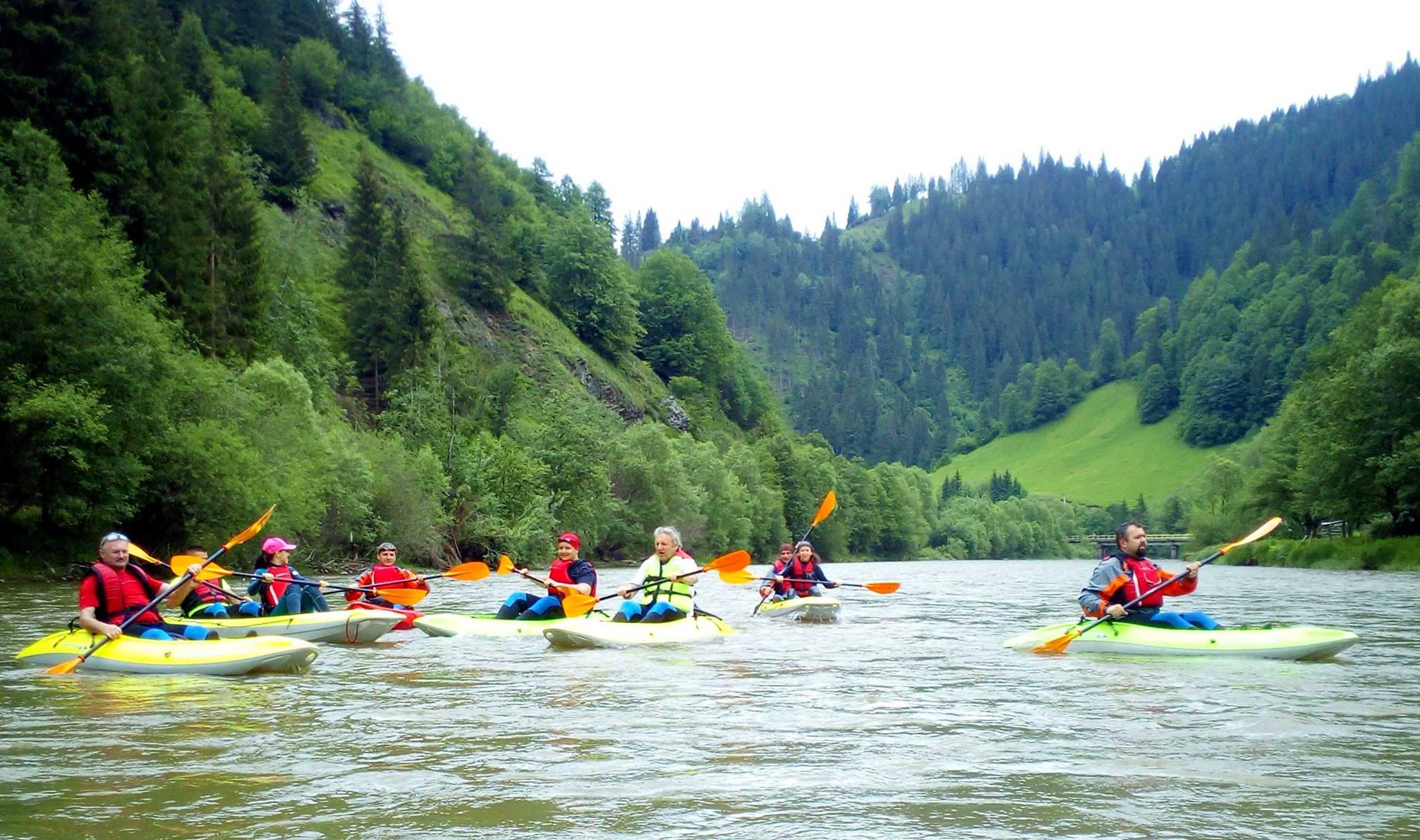 river rafting Bucovina